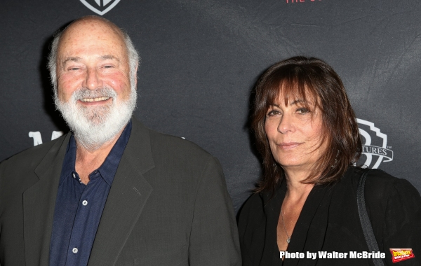 Rob Reiner and Michele Singer  Photo