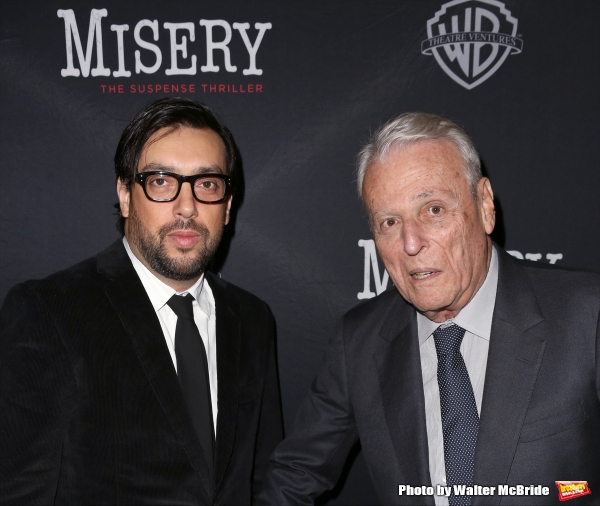 Director Will Frears and playwright William Goldman