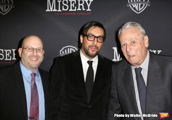 Mark Kaufman, Will Frears and William Goldman  Photo