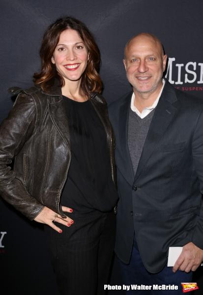 Lori Silverbush and Tom Colicchio