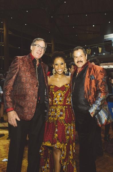 Eleasha Gamble (Nancy) with Tom Noll and Jose Ucles