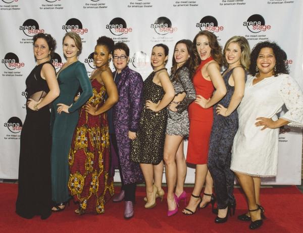 Dorea Schmidt, Lara Zinn, Eleasha Gamble, Molly Smith, Jesse Palmer, Jane Bunting, Lauren Gemelli, Juliane Godfrey and Rayanne Gonzales