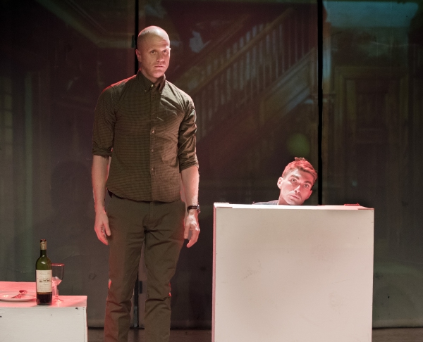 Mark Rinze as Arvin Meissner (front) and Ross McCorkell as Berndt Brockhaus Photo