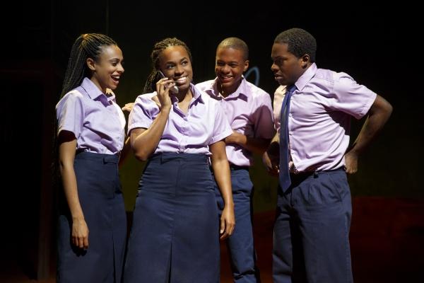 Nicolette Robinson, Kristolyn Lloyd, Jamar Williams and Tyrone Davis Jr. Photo