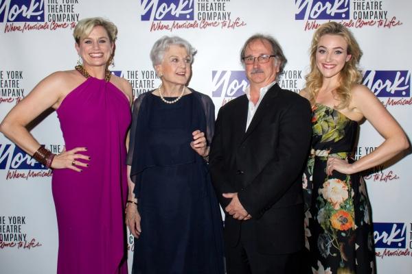 Cady Huffman, Angela Lansbury, Mark Linn-Baker, Betsy Wolfe