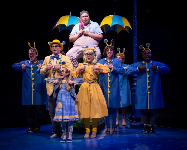 The cast of The Marriott Theatre for Young Audiences'' production of SEUSSICAL