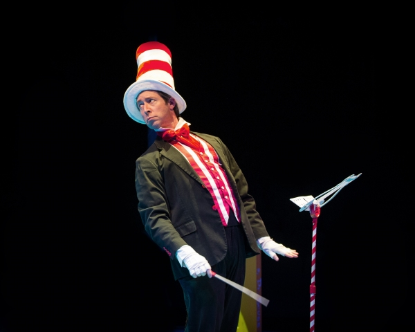 George Keating stars as ''The Cat in the Hat''