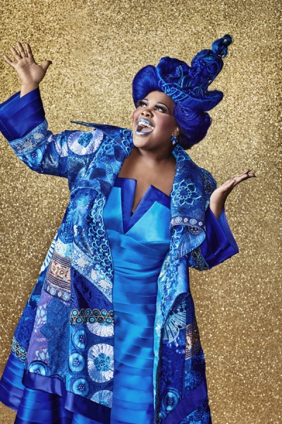 THE WIZ LIVE! -- Season: 2015 --Pictured: Amber Riley as Addapearle -- (Photo by: Paul Gilmore/NBC)
