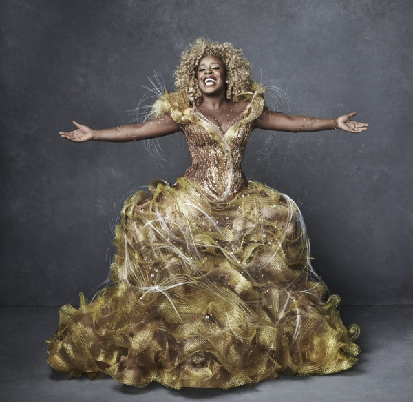 THE WIZ LIVE! -- Season: 2015 -- Pictured: Uzo Aduba as Glinda -- (Photo by: Paul Gilmore/NBC)