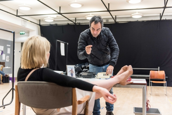 Photos: In Rehearsal with Lisa Dillon and More for HAPGOOD at Hampstead Theatre
