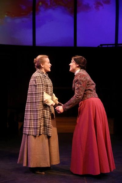 Margaret Leavitt (Jennifer Dean) and Henrietta Leavitt (Shannon Emerick) Photo