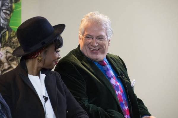 THE WIZ LIVE!  -- Press Junket -- Pictured: (l-r) Fatima Robinson, Choreographer; Harvey Fierstein, Writer -- (Photo by: Virginia Sherwood/NBC)