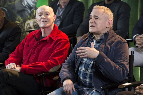 THE WIZ LIVE!  -- Press Junket -- (l-r) Neil Meron, Craig Zadan, Executive Producers -- (Photo by: Virginia Sherwood/NBC)