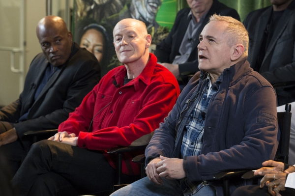 THE WIZ LIVE!  -- Press Junket -- (l-r) Kenny Leon, ; Neil Meron, Craig Zadan, Executive Producers -- (Photo by: Virginia Sherwood/NBC)