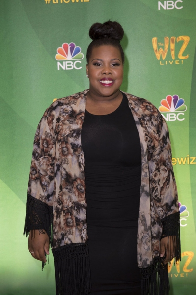 THE WIZ LIVE!  -- Press Junket -- Amber Riley -- (Photo by: Virginia Sherwood/NBC)
