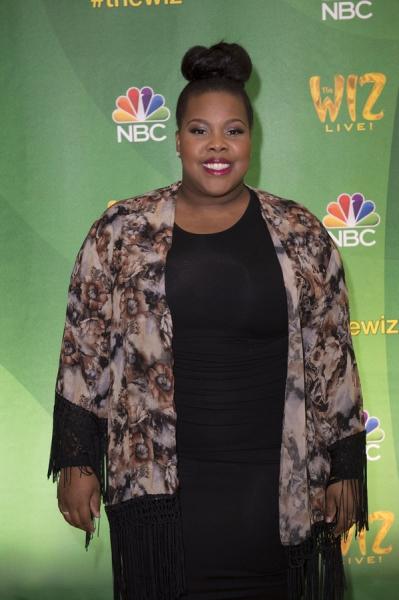 THE WIZ LIVE!  -- Press Junket -- Amber Riley -- (Photo by: Virginia Sherwood/NBC)