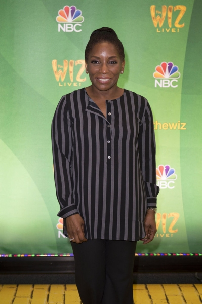THE WIZ LIVE!  -- Press Junket -- Stephanie Mills -- (Photo by: Virginia Sherwood/NBC)