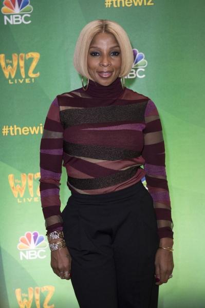 THE WIZ LIVE!  -- Press Junket -- Mary J Blige -- (Photo by: Virginia Sherwood/NBC)