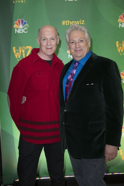 THE WIZ LIVE!  -- Press Junket -- (l-r) Neil Meron, Executive Producer; Harvey Fierstein, Writer -- (Photo by: Virginia Sherwood/NBC)