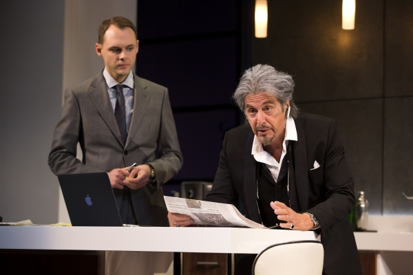 Christopher Denham and Al Pacino  Photo