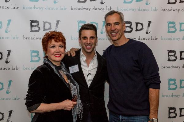 Josh Prince, Donna McKechnie, and Jerry Mitchell