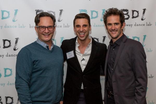 Josh Prince, Andy Blankenbuehler and Ben Rodriguez-Cubenas