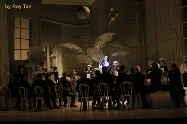 The company of English National Opera''s THE MIKADO