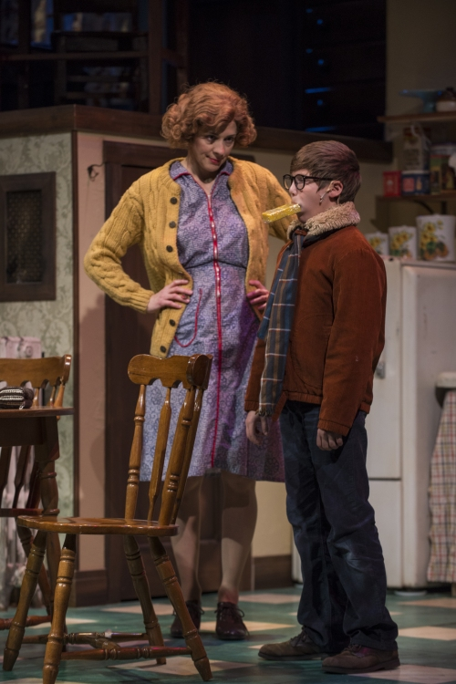 high res nate becker as ralphie with mouth washed out with soap scene and linda gillum