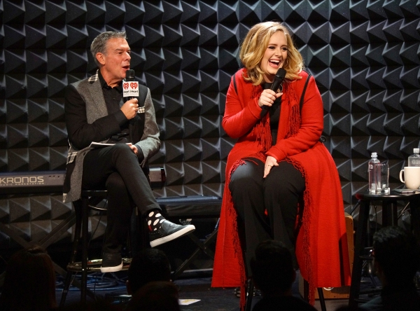 Elvis Duran and Adele