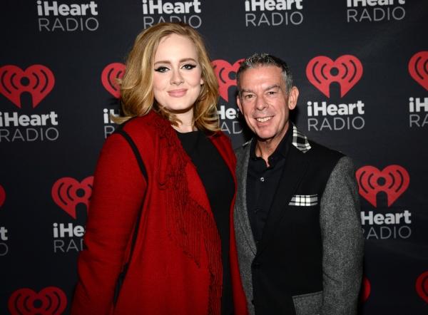 Adele and Elvis Duran Photo