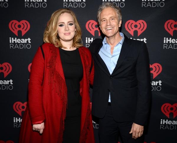 Adele and President, Entertainment Enterprises for iHeart media John Sykes Photo
