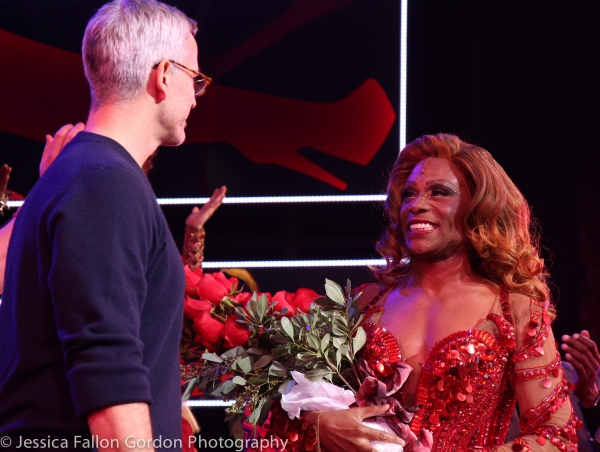 Jerry Mitchell and Billy Porter