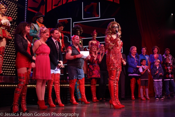 Billy Porter and the cast