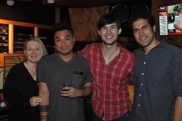 Lynn Pinto, Andros Rodriguez, Mattick Smith and Joel Perez