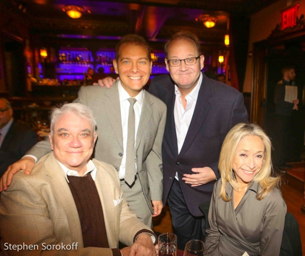 Rex Reed, Michael Feinstein, Marc Cherry, creator Desperate Housewives, Eda Sorokoff