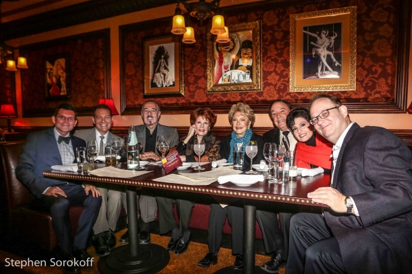 Terrence Flannery, Michael Feinstein,Marc Rosen, Arlene Dahl, Ginny Mancini, Allan Lazare, Arlene Lazare, Marc Cherry