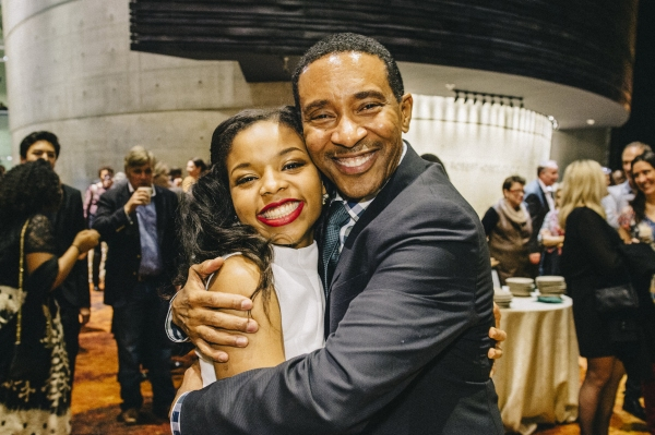 Photo Flash: AKEELAH AND THE BEE's Johannah Easley, Charles Randolph-Wright and More Celebrate Opening at Arena Stage