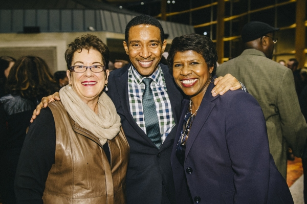 Molly Smith,  Charles Randolph-Wright and  Gwen Ifill
