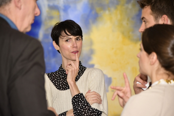 Photo Flash: Suzanne LaFleur Opening Takes Chelsea by Storm at Hollis Taggart Gallery