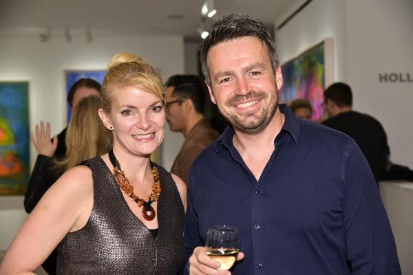 Patricia Walker, Mike Newton Photo