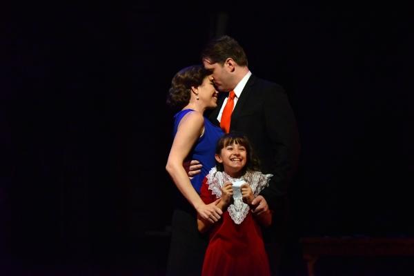 Kim Carson, Aaron Ramey and Sophia Eleni Kekllas