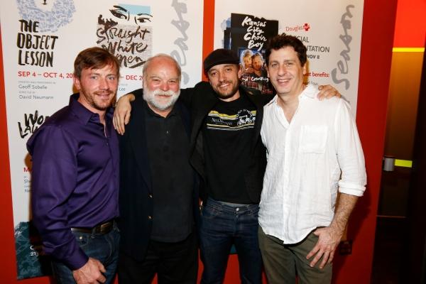Brian Slaten, Richard Riehle, Frank Boyd and Gary Wilmes