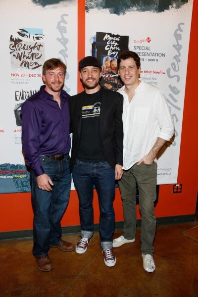 Photo Flash: STRAIGHT WHITE MEN Celebrates Opening Night at the Douglas