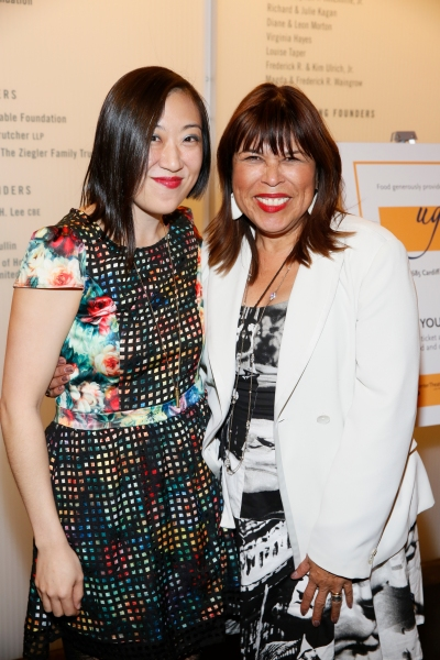 Playwright/ Young Jean Lee and CTG Associate Artistic  Diane Rodriguez