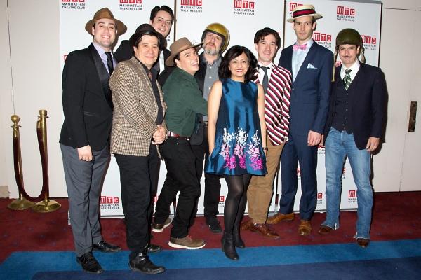 Reed Campbell, Triney Sandoval, Henry Vick, Jon Bass, Remy Auberjonois, Maria Elena S Photo