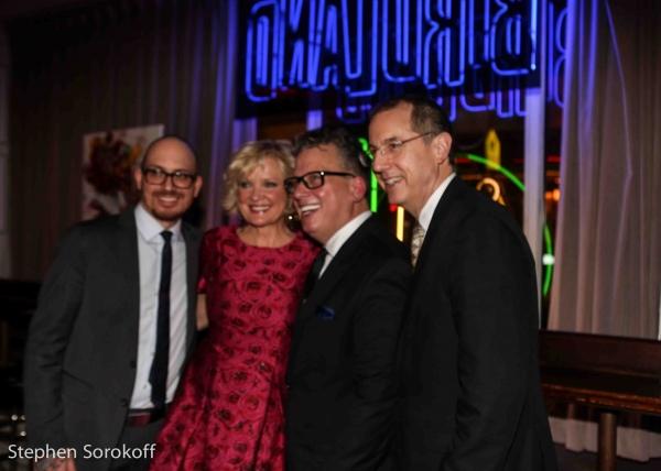 Rick Montalbano Jr., Christine Ebersole, Billy Stritch Tom Hubbard
