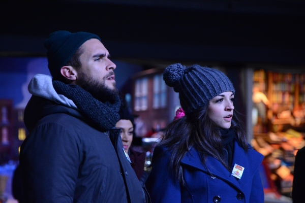 Photo Coverage: Casts of FIDDLER, ON YOUR FEET, THE KING AND I Rehearse for the Macy's Thanksgiving Day Parade!
