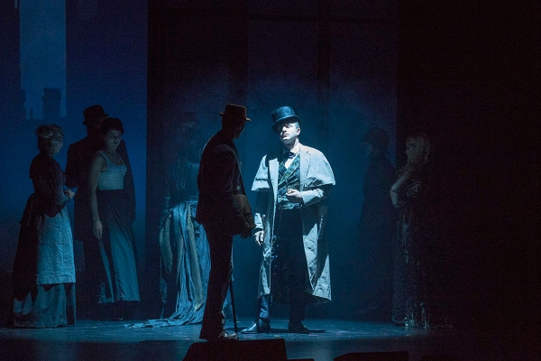 Photo Flash: First Look at SHERLOCK HOLMES in Chicago, Starring David Arquette