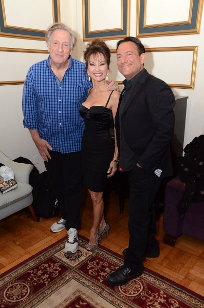 Alan Zwibel, Susan Lucci and Eugene Pack