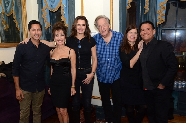 Maulik Pancholy, Susan Lucci, Brooke Shields, Alan Zwibel, Dayle Reyfel and Eugene Pack